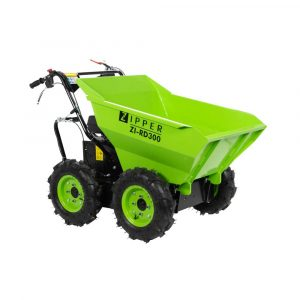 Mini Dumper Volquete con Ruedas Todo Terreno Carga 300Kg ZI-RE300 ZIPPER